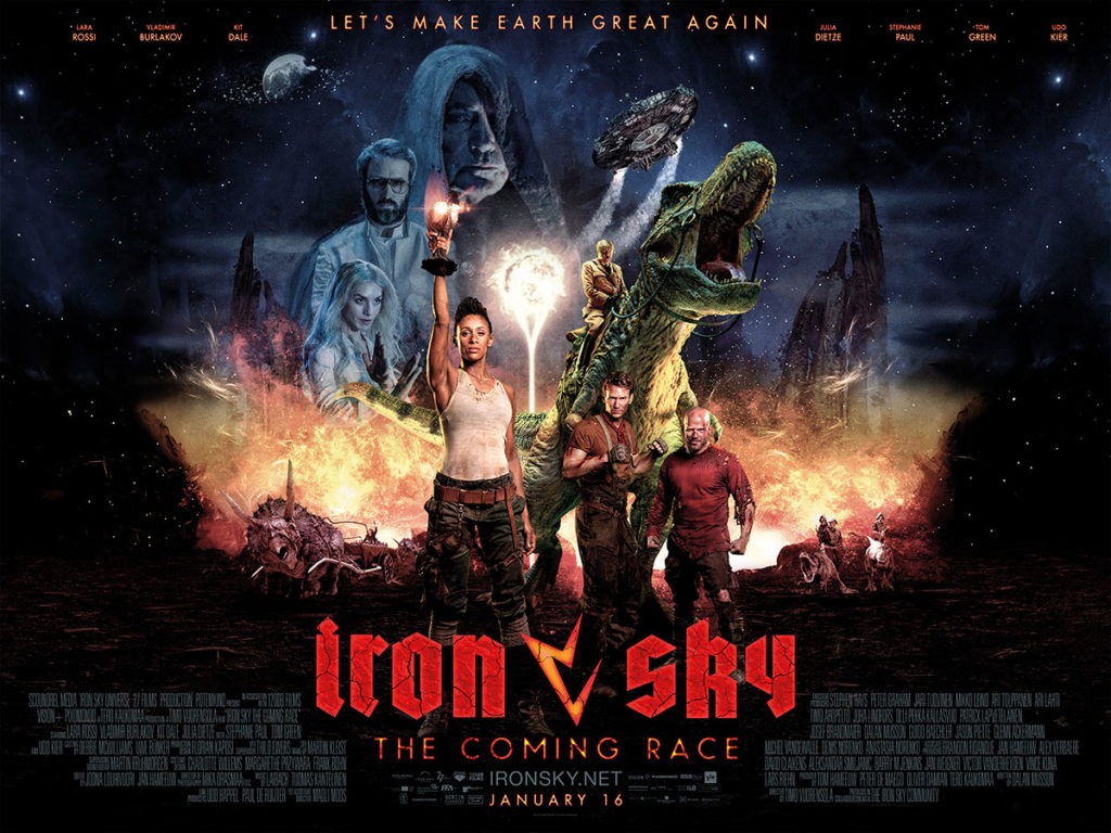 Iron Sky - The Coming Race videojuliste